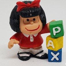 Figuras de Goma y PVC: RARA FIGURA MAFALDA PAX QUINO 87 COMIC SPAIN. Lote 296589738