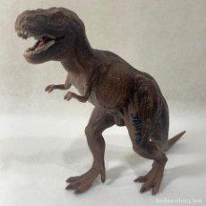Figuras de Goma y PVC: ANIMALES SCHLEICH - DINOSAURIO - TYRANNOSAURUS REX - 33 CM X 22 CM AÑO 2006 REF. 16454. Lote 296596883