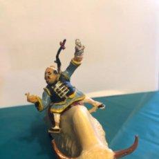 Figuras de Goma y PVC: ESTEREOPLAST SING LI MONTADO EN YAK AÑOS 60 ORIGINAL. Lote 296597248