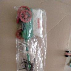 Figuras de Goma y PVC: CARAVANA DE JUGUETE AÑOS 60-70 CONSERVA PLASTICO-BLISTEC. Lote 296612978