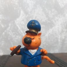 Figuras de Goma y PVC: FIGURA PVC SERIE GATO ISIDORO CAPITÁN BARCO COMICS SPAIN VINTAGE AÑOS 80. Lote 296712188