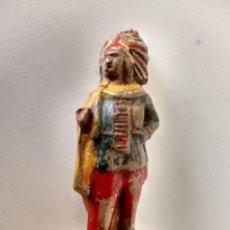 Figuras de Goma y PVC: FIGURA GOMA INDIO CAPELL. Lote 296902093