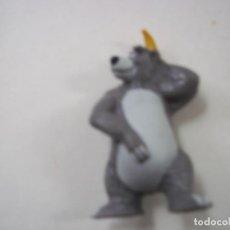 Figuras de Goma y PVC: FIGURA BALOO, EL LIBRO DE LA SELVA DISNEY, BULLYLAND -N. Lote 296945958
