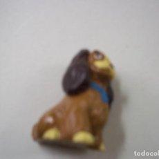 Figuras de Goma y PVC: FIGURA DAMA Y VAGABUNDO BULLY - N. Lote 296946568
