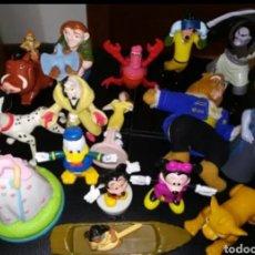 Figuras de Goma y PVC: ~ LOTE MUÑECOS FIGURAS MINIATURAS VINTAGE DISNEY: BELLA Y LA BESTIA, POCAHONTAS, CRUELLA, MICKEY...~. Lote 297374683