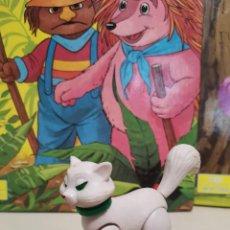 Figuras de Goma y PVC: JOYA UNICA COLECCIONISTA GATA DUQUESA FIGURA DETERGENTE SKIP ARISTOGATOS AÑOS 70 DUNKIN PREMIUM TITO. Lote 297375133