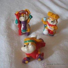 Figuras Kinder: CONEJOS ESQUIADORES KINDER SORPRESA. Lote 26637876