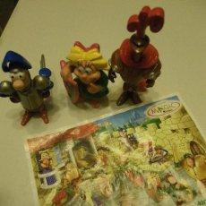 Figuras Kinder: LOTE 3 FIGURAS KINDER MEDIEVALES . Lote 34283074