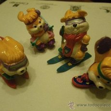 Figuras Kinder: LOTE 4 FIGURAS KINDER PERROS . Lote 34283133