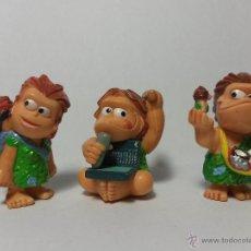 Figuras Kinder: Z-066- CUATRO FIGURAS KINDER DE GOMA O PVC DE LA MISMA SERIE. Lote 47005653