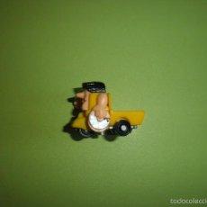 Figuras Kinder: MUÑECO FIGURA HUEVO KINDER HOMBRE COCHE. Lote 57366960