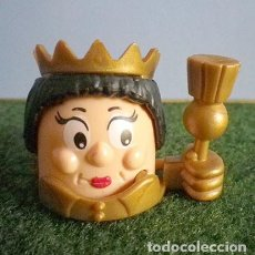 Figuras Kinder: KINDER SORPRESA CABEZAS RODANTES REINA K98-97, 1998. Lote 95591635