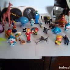 Figuras Kinder: LOTE DE JUGUETES PEQUEÑOS VARIADOS, KINDER, ANTIGUOS, PVC, GOMA, ETC. USADO, ACEPTABLE.. Lote 95743319