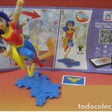 Figuras Kinder: FIGURA KINDER SE280 SERIE SUPER HERO GIRLS + BPZ. Lote 106103808