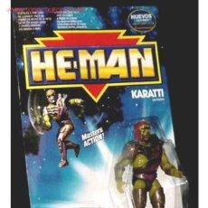 Figuras Masters del Universo: ANTIGUO MUÑECO KARATTI DE LA SERIE HE-MAN DE MASTERS DEL UNIVERSO . Lote 109621295