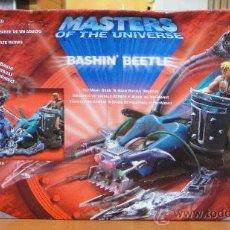 Figuras Masters del Universo: MASTERS UNIVERSO HE MAN. BASHIN BEETLE.VEHICULO NUEVO EN SU CAJA ORIGINAL. Lote 27281524