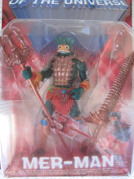 Figuras Masters del Universo: Mer-Man de Masters del Universo Masters of the Universe Mattel. . - Foto 3 - 26505899
