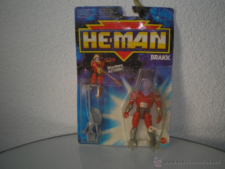 HE-MAN BRAKK EN SU BLISTER (Juguetes - Figuras de Acción - Master del Universo)