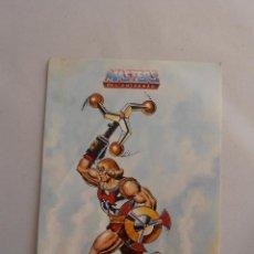 Figuras Masters del Universo: PEGATINA HEMAN PUÑO BOLEADOR MASTERS DEL UNIVERSO MOTU MATTEL 1988 HE-MAN. Lote 44925794