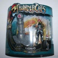 Figuras Masters del Universo: EDD FIGURA THUNDERCAT THUNDERCATS LION-O BANDAI 2011 - NUEVO EN BLISTER. Lote 46963507