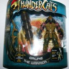 Figuras Masters del Universo: EDD FIGURA THUNDERCAT THUNDERCATS GRUNE THE WARRIOR BANDAI 2011 - NUEVO EN BLISTER. Lote 46963543