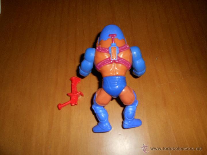 Figuras Masters del Universo: Muñeco Man - E- Faces de He- Man Masters del Universo original de Mattel años 80 B.E. TAIWAN - Foto 2 - 48729256