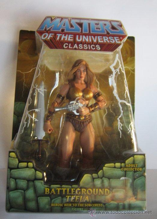 FIGURA MASTERS DEL UNIVERSO, TEELA, EN BLISTER. CC (Juguetes - Figuras de Acción - Master del Universo)