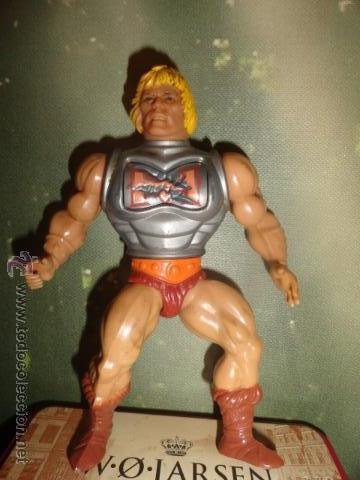 HE-MAN BATTLE ARMOR ARMADURA DE BATALLA MASTER MASTERS DEL UNIVERSO (Juguetes - Figuras de Acción - Master del Universo)