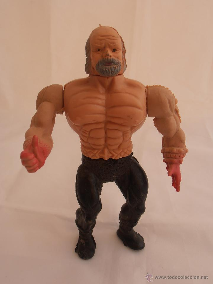 BOOTLEG HOMBRE VIEJO PERILLA HEMAN MASTERS DE UNIVERSO HE-MAN MOTU (Juguetes - Figuras de Acción - Master del Universo)
