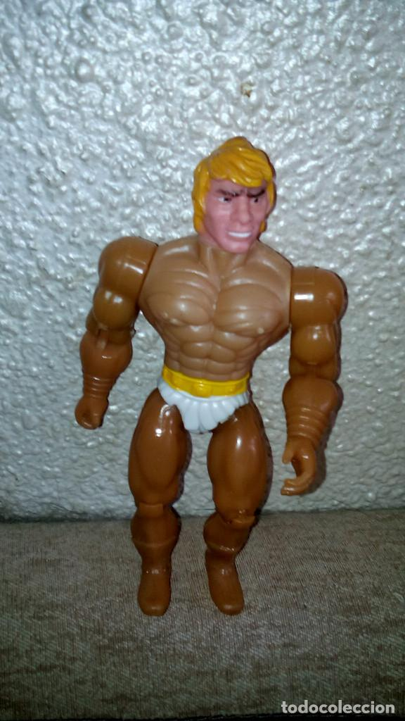 MUÑECO HE MAN MASTER DEL UNIVERSO FAKE BOOTLEG HE MAN (Juguetes - Figuras de Acción - Master del Universo)