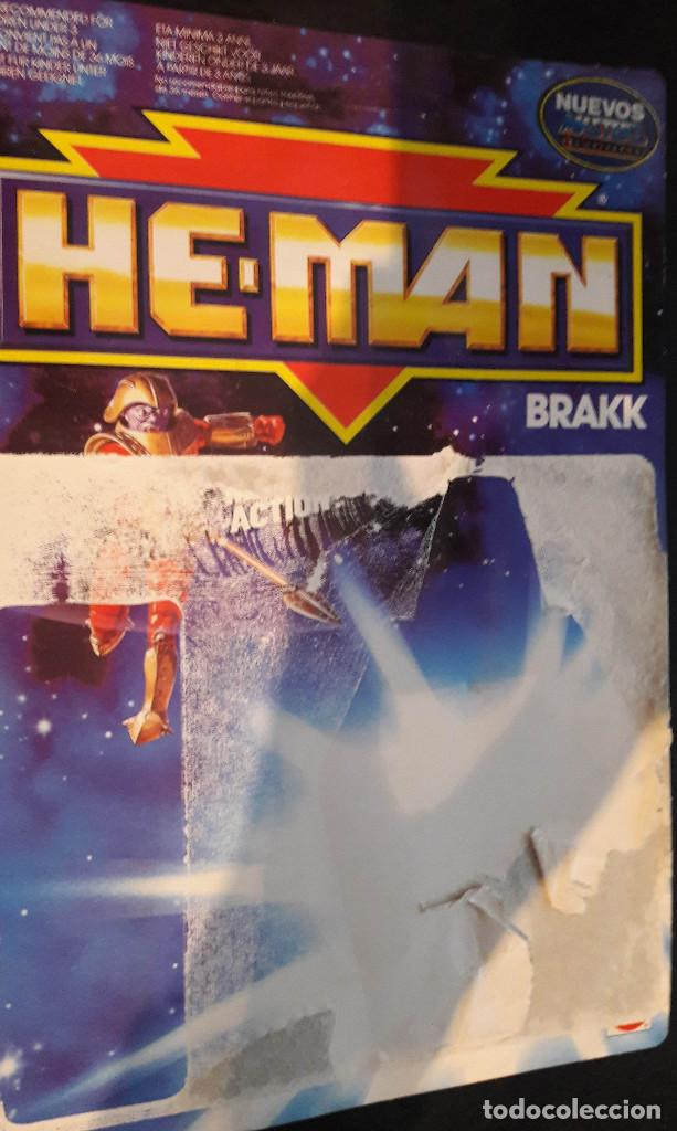 Figuras Masters del Universo: MASTERS DEL UNIVERSO COLECCION HE-MAN BRAKK MOTU ORIGINAL AÑO 1990 - Foto 2 - 71104329