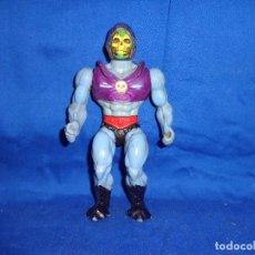 Figuras Masters del Universo: HE-MAN - FIGURA ARTICULADA SKELETOR MATTEL AÑO 1985, AL GIRAR LA CINTURA MUEVE LOS BRAZOS !! SBB. Lote 73663585