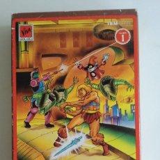 Figuras Masters del Universo: VHS/HE-MAN Y LOS MASTERS DEL UNIVERSO Nº1.. Lote 86639364