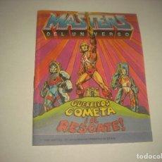 Figuras Masters del Universo: PEQUEÑO COMIC DE MASTERS DEL UNIVERSO . GUERREROS COMETA , AL RESCATE! . 1986 MATTEL. Lote 87600416