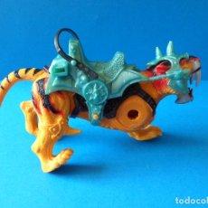 Figuras Masters del Universo: TIGRE DE COMBATE DIENTES DE SABLE CON MONTURA - MARCA CHAP MEI. Lote 90531665