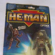 Figuras Masters del Universo: MASTER DEL UNIVERSO, HE MAN OPTIKK, EN BLISTER. CC. Lote 93420570