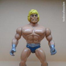 Figuras Masters del Universo: MOTU HE-MAN ESPADA LUMINOSA (LASER POWER) 1987 ITALY. Lote 98692007