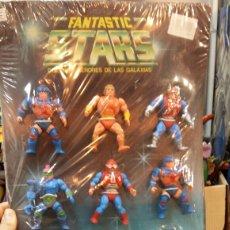 Figuras Masters del Universo: FANTASTIC STARS CARTÓN CON 12 FIGURAS. Lote 98703587
