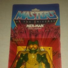 Figuras Masters del Universo: FIGURA MOTU MERMAN VINTAGE USA. Lote 98713471