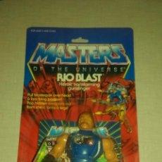 Figuras Masters del Universo: FIGURA BLISTER MOTU RIO BLAST VINTAGE USA 86. Lote 98714354