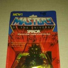 Figuras Masters del Universo: FIGURA BLISTER SPIKOR MOTU. Lote 98714904