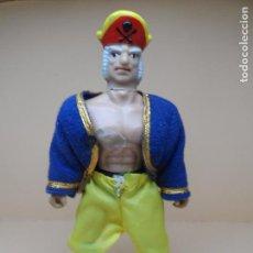 Figuras Masters del Universo: FIGURA MOTU WWF BOOTLEG PIRATA PATA PALO AÑOS 80. Lote 104876487