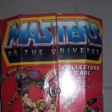 Figuras Masters del Universo: COLLECTOR CASE HEMAN MOTU MATTEL MASTERS DEL UNIVERSO HE MAN CAJA COLECCIONISTAS ORIGINAL 1984 USA . Lote 105770560