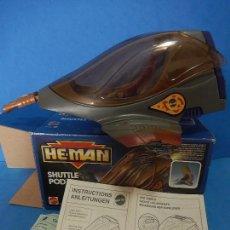 Figuras Masters del Universo: HE-MAN. SHUTTLE POD. MATTEL. ESPAÑA. EN LA CAJA 1990.. Lote 110791855