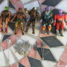 Figuras Masters del Universo: LOTE MUÑECOS MASTER DEL UNIVERSO FABRICADOS EN MALASIA AÑOS 80. Lote 111664310