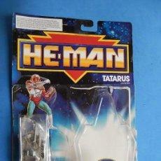 Figuras Masters del Universo: BLISTER ABIERTO, SOLO CON ARMAS O COMPLEMENTOS. TATARUS. HE-MAN.. Lote 111691787