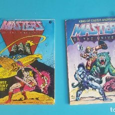 Figuras Masters del Universo: MINICOMICS MASTERS DEL UNIVERSO. Lote 112613203