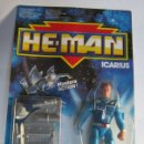 Figuras Masters del Universo: HE MAN ICARIUS EN BLISTER. CC. Lote 114323299