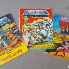 Figuras Masters del Universo: COMICS MASTERS DEL UNIVERSO. Lote 118096948