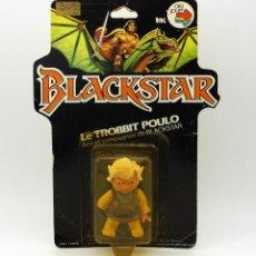 Figuras Masters del Universo: BLACKSTAR - TROBBIT POULO - BLISTER NUEVO Y NUNCA JUGADO - 1983 - GALOOB FILMATION FIGURE MOTU HEMAN. Lote 119277547